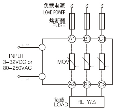 High Voltage Connectors as well Three Phase Solid State Relay Circuit Diagram additionally Led Electronic Symbols as well Spst Relay Wiring Diagram in addition  on ssr3phase10a