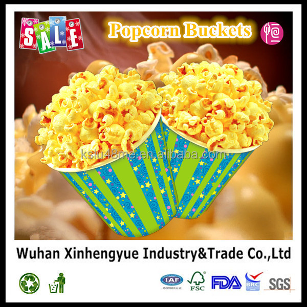 Competitive price 24oz imprinting Popcorn cup with popular design