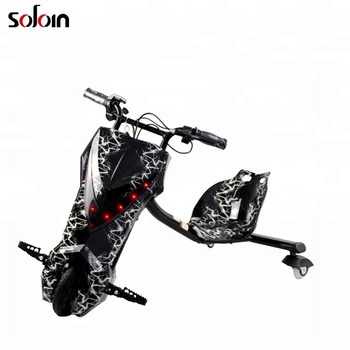250W 4.0Ah 36V smart 3 wheel kids electric drifting scooter