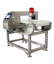 Touch screen intelligent Packaged and Bulk Food metal detector