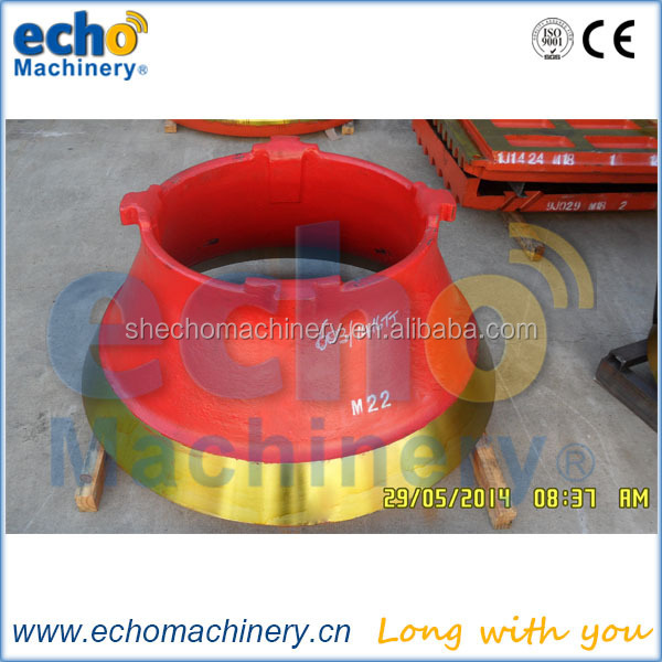 Terex Finlay C1550 Cone Crusher Spare Parts With Mn18%,Mn22% Material For  Crushing Rocks And Mine - Buy Terex Finlay C1550 Cone Crusher Spare