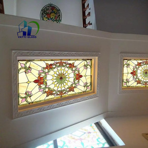 stained laminated glass tinted glass tiffany glass window panels