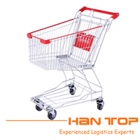 Low price utility cart shopping trolley