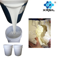 Gypsum Statue mold making rtv2 liquid silicone rubber