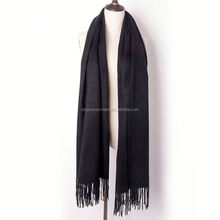 black muffler shawl long scarf