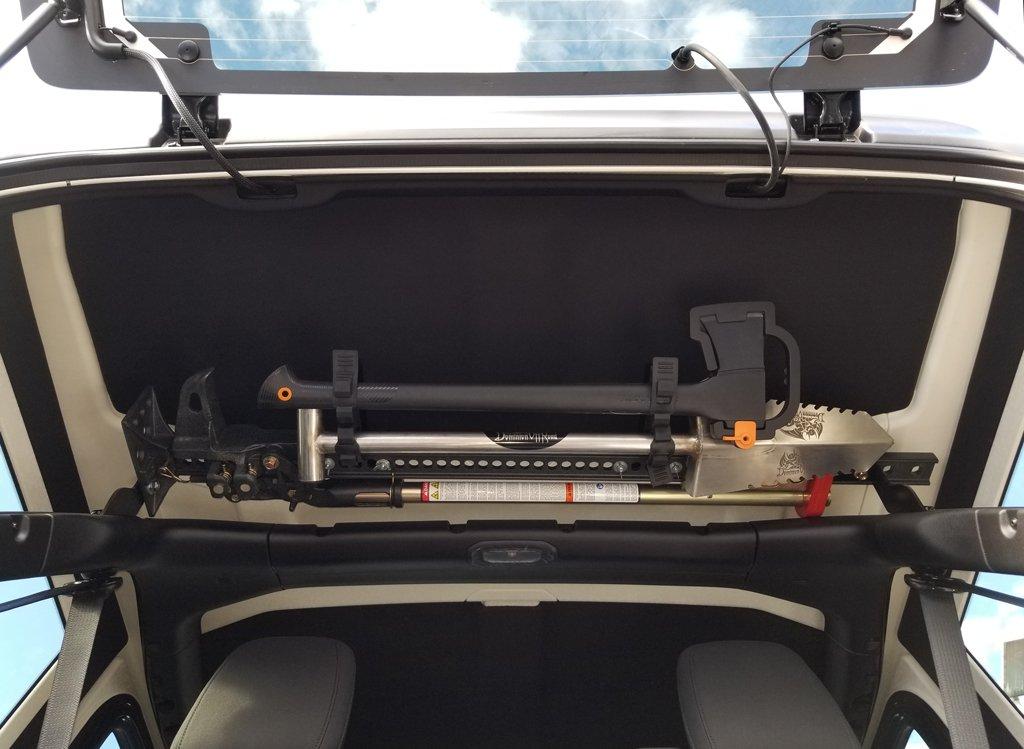 Best Jeep JL Wrangler Hi-Lift Jack Mount kit Accessory Bars Combo Package