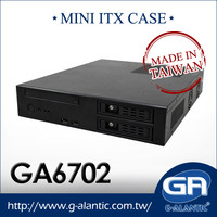 GA6702 Mini-ITX Computer Case For Gaming Desktop Computer
