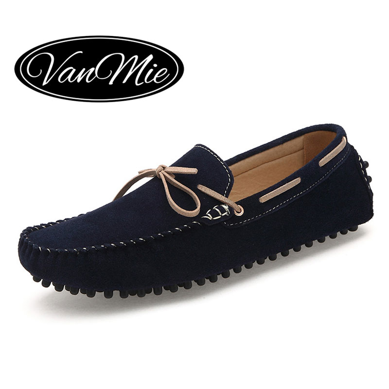 34e65141a53 2016 Fashion Men Loafers Genuine Leather Casual Shoes Slip On Moccasins  Menu0026 39 s