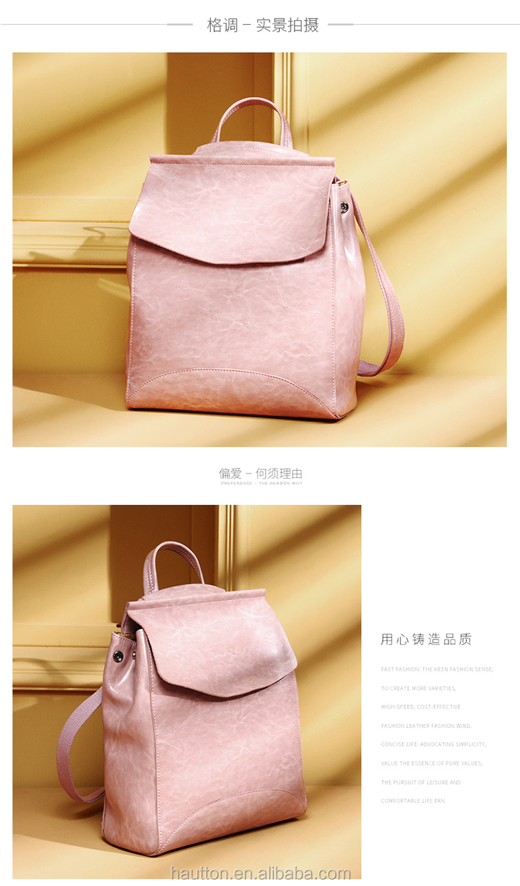6545ce695f026 STIYA Brand Fashion outdoor leisure bags genuine leather backpack bag for girls  2017
