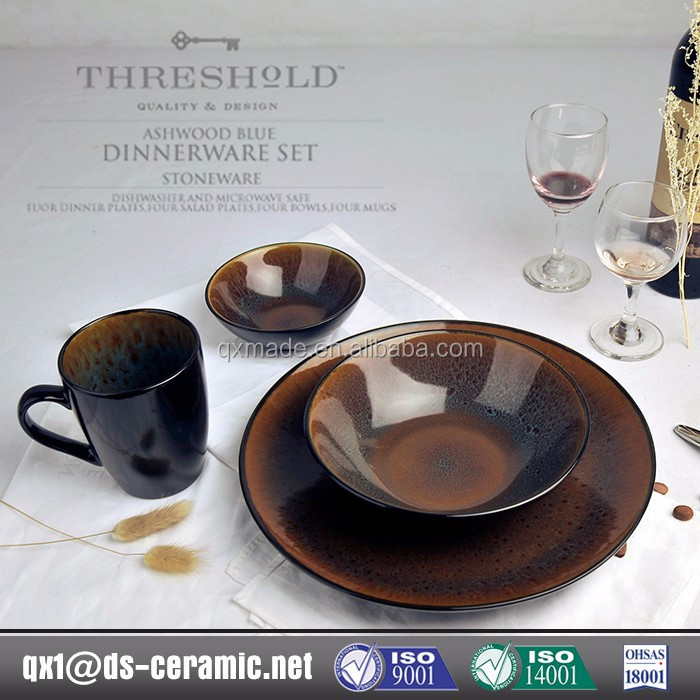Low Cost High Quality stoneware made in poland china dinnerware