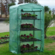 4 Tier green gardening PE green house