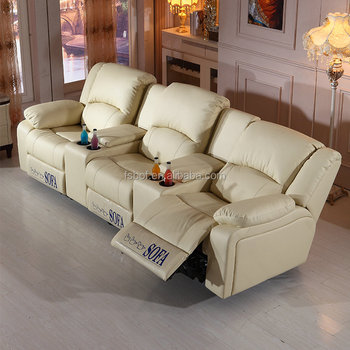 best cheap modern home theater furniture recliner sofa chair with cup  holder SC-47, View best home theater furniture, Jiujia Product Details from  ...