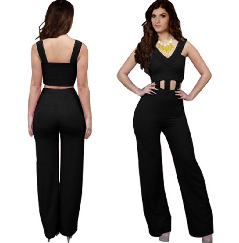 0561f73b0a16 Get Quotations · New 2015 Bandage Bodycon womens rompers jumpsuit Club Sexy  Fashion Cocktail Clubwear Party