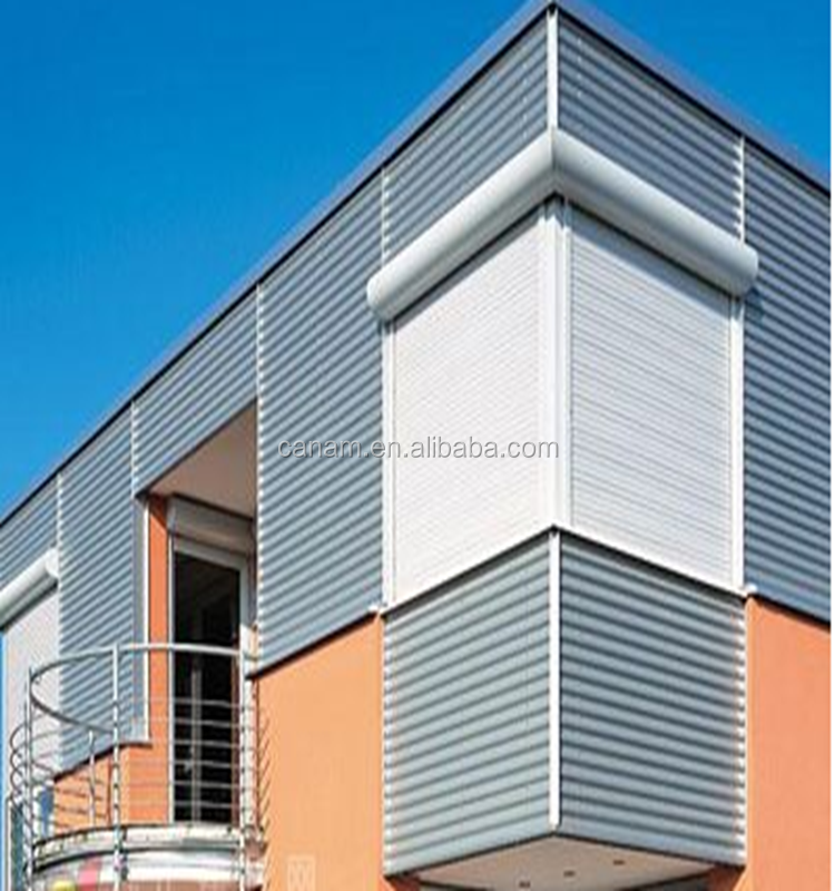 High-class rolling shutters for adornment