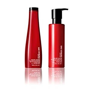 Shu Uemura Art of Hair Color Lustre Sulfate Free Shampoo (300ml) and Conditioner (250ml)
