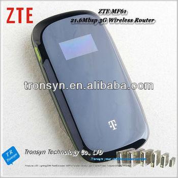 Brand New Hsdpa 21 6mbps Zte Mf61 Pocket Wifi Router And 3g Mobile Wifi  Router - Buy Pocket Wifi Router,Zte Pocket Wifi Router,21 6mbps Zte Pocket