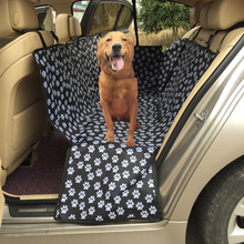 Pet carriers 600D Oxford Stof Poot patroon <span class=keywords><strong>Auto</strong></span> Huisdier <span class=keywords><strong>Stoelhoezen</strong></span> Waterdicht <span class=keywords><strong>Terug</strong></span> Bench Seat Travel Accessoires hangmat
