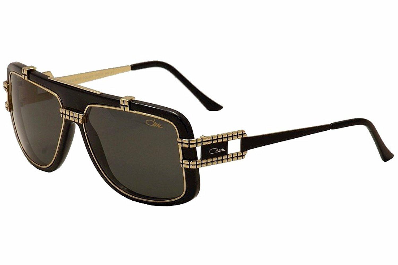 374c3d3cda Get Quotations · Cazal 661 3 Sunglasses 001 Black Gold 60mm
