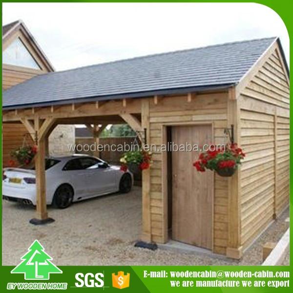 Manufacturer Directly Supply Prefab Wooden Carport/solar ...