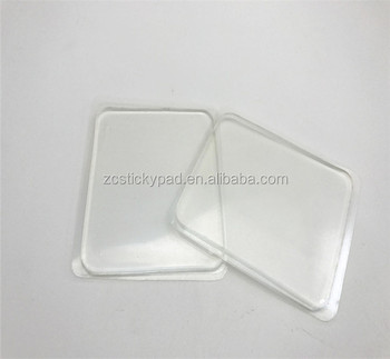 Super Sticky Nano Gel Clear Adhesive Pads Silicone