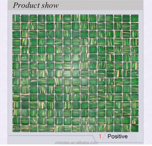 Decorative glass mosaic for wall and floor decoration mosaic pattern colorful glass mosaics