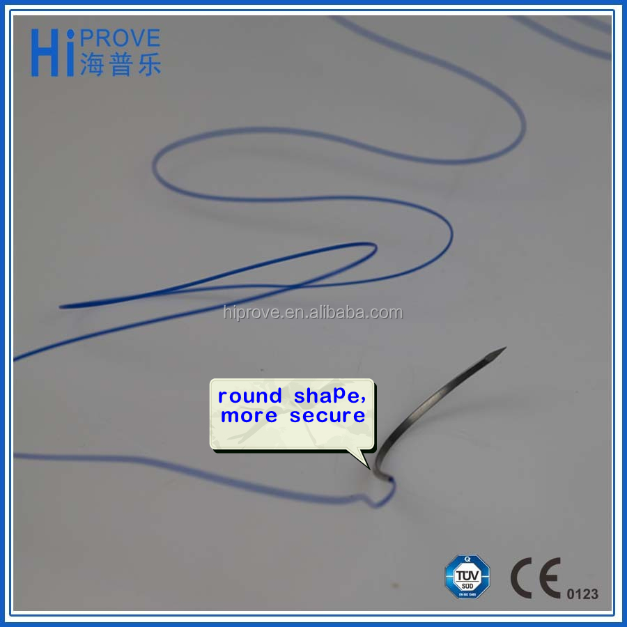 surgical suture needles with thread