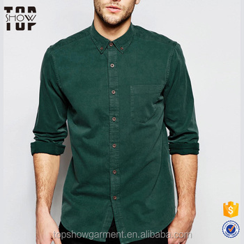 aed3e245a01 Guangdong cheap clothing long sleeve twill simple pant shirt new style for  men