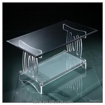 Ordinaire Designable Rectangular Acrylic Dinner Table For Hotel