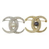 Luxury Zircon Brooch With Pearl For Women Silver And Gold Color Cloth Accessory