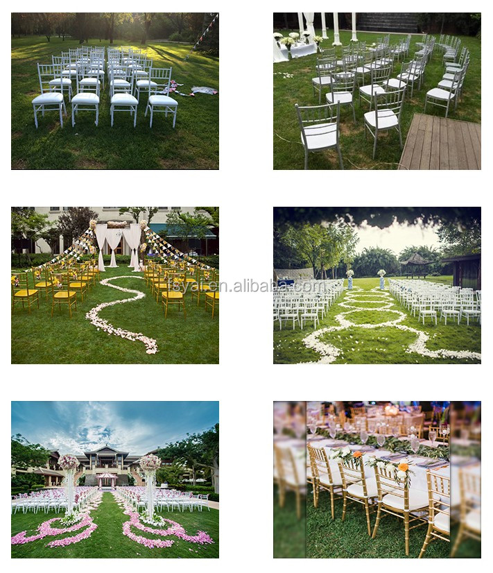 Wholesale Polycarbonate Crystal Clear wedding reception Resin folding white wimbledon chair