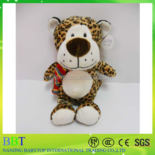 custom cuddly sex stuffed toy leopard lovely kids soft toy plush animal leopard