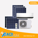 24000 Btu Single Phase AC DC Hybrid Solar Air Conditioner FADI solar air cooler