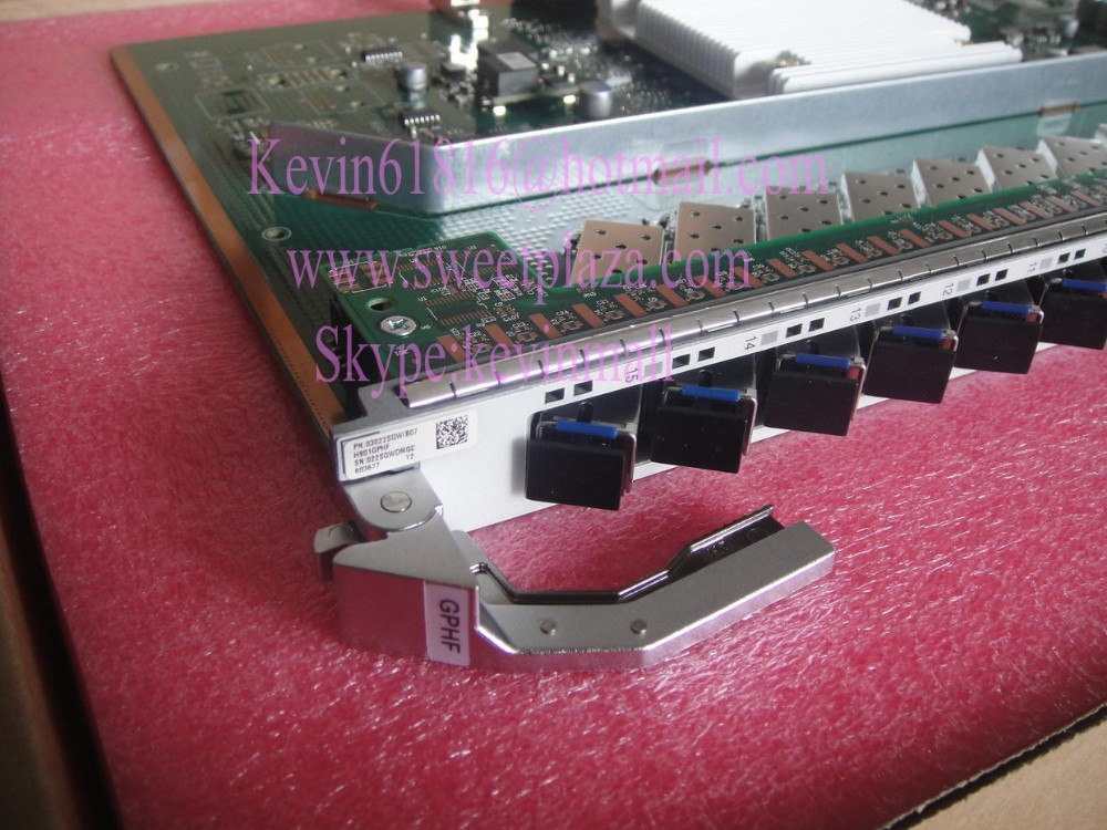 Huawei 16 ports PON board GPHF for MA5800