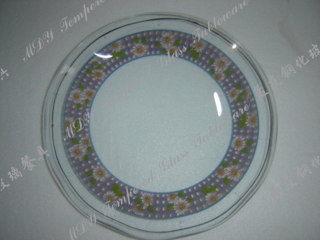 Tempered Glassware- Round plate