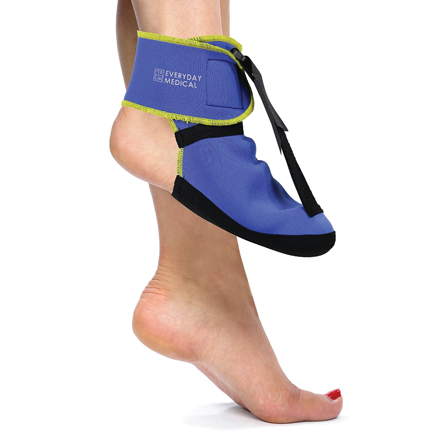 8e7bc809ed Get Quotations · Everyday Medical Plantar Fasciitis Night Stretching Splint,  Plantar Fasciitis Arch Support for Better Stability,