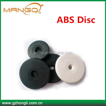 Abs Anti-metal Disc Tags Rfid 125khz Or 13.56mhz Passive Tag