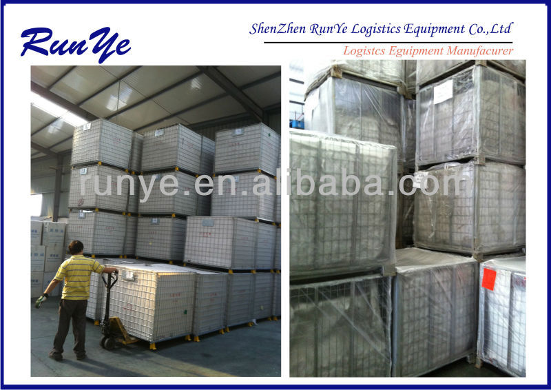 Industrial storage wire container china manufacturer