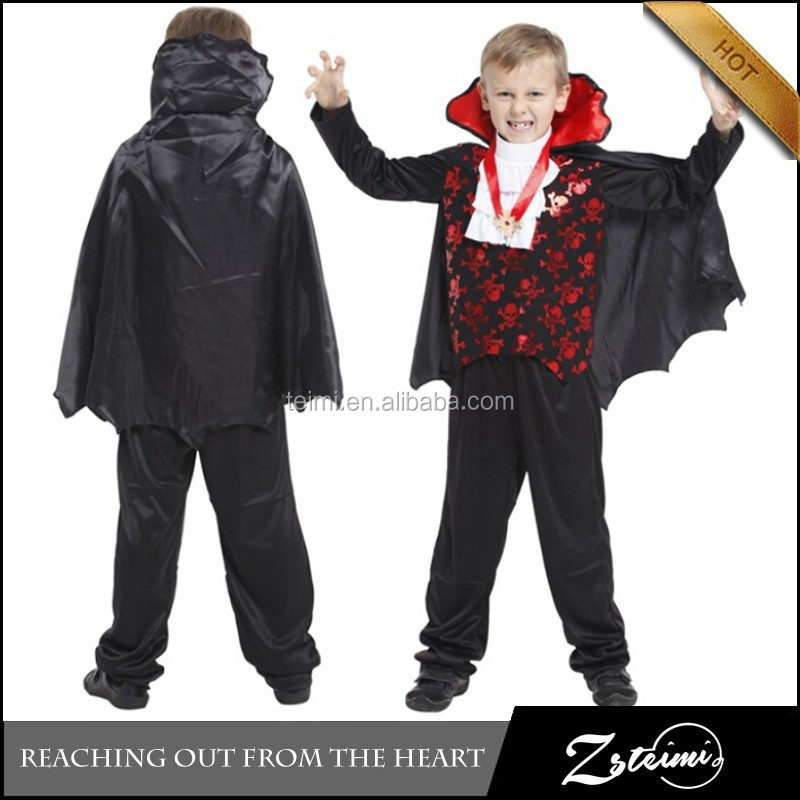 Manufacturers Wholesale Carnival Party Fancy Dress Ball Cosplay Vampire Costume Children