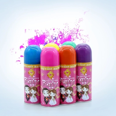 250ML Wedding Colored Party Foam Aerosol Snow Spray