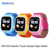 Wonlex Q50 Smartwatch GPS Round Screen Bluetooth Heart Rate Monitor Anti-lost Support SIM Card