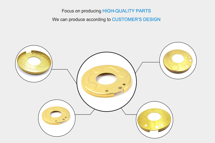 Factory Price Custom Compressor Brass Flange Stamping Flange