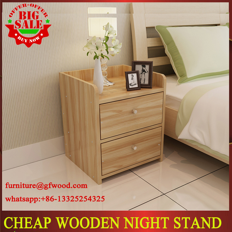 2017 FACTROY WHOLESALE CHEAP WOODEN MORDERN UNIQUE NIGHT STAND