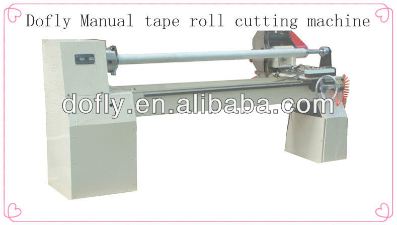 Manual Vinyl Log Roll Slitter