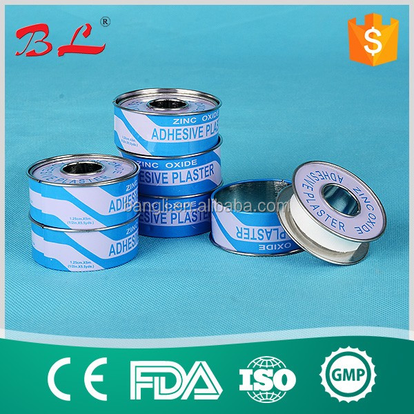 Africa Most Popular Zinc Oxide Plaster Surgical Adhesive Plaster(M)