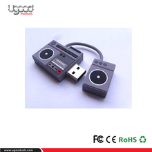 TV programs gifts ,Studio gifts for Customized PVC Radio USB flash drive ,usb stick,memory