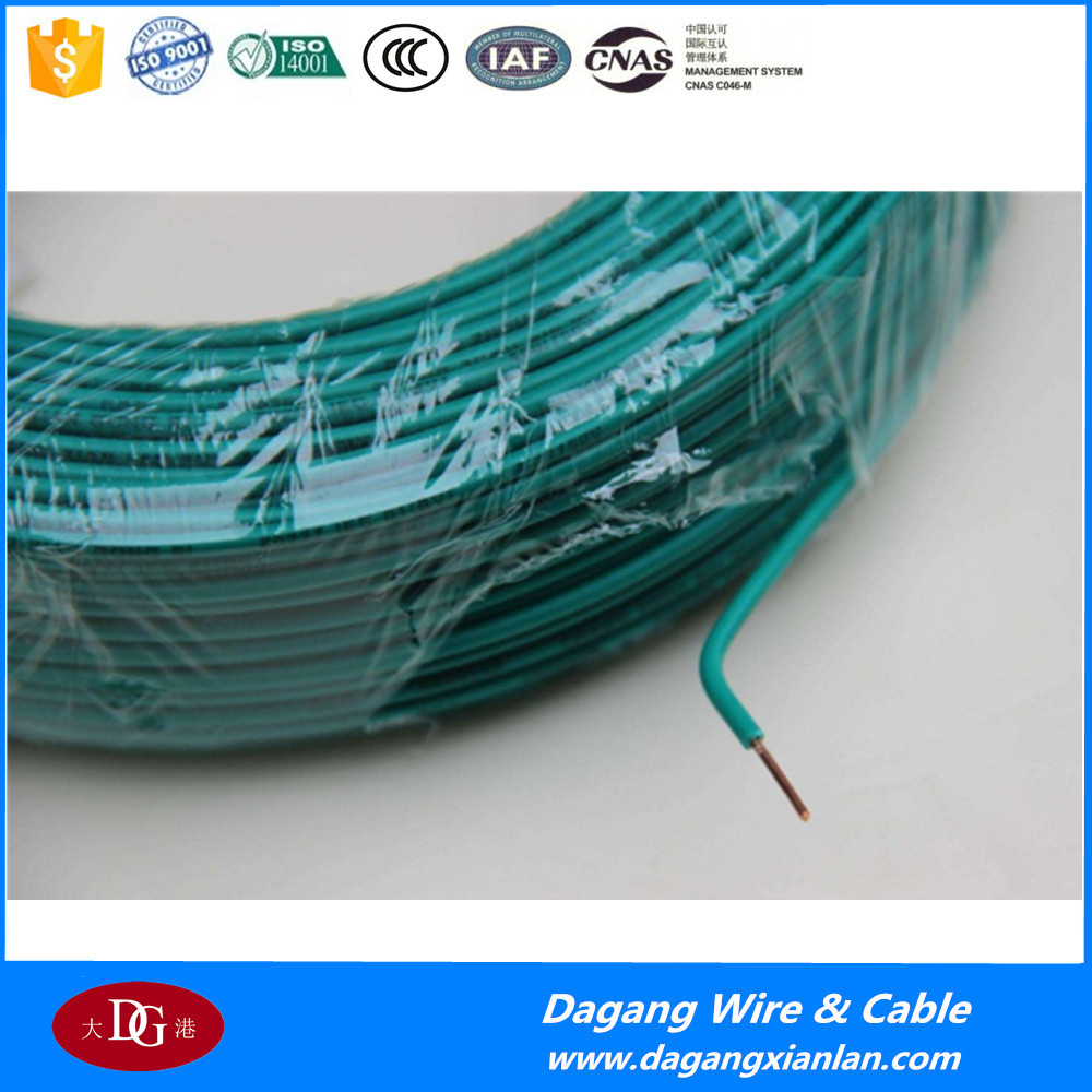 Electrical House Wiring Single Solid Stranded Copper Conductor Pvc ...