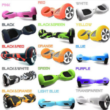 Factory Wholesale Self Balancing Scooter 2 Wheel hover board, 6.5 Inch Hoverboard 2 Wheel Balance electric Silicone case