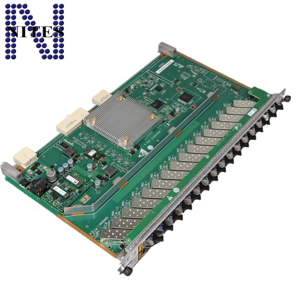 Ma5608t Olt Original Hua Wei 16 Ports Gpon Board With 16 Pcs Gpfd Class C Sfp Modules For Ma5680t Ma5683t