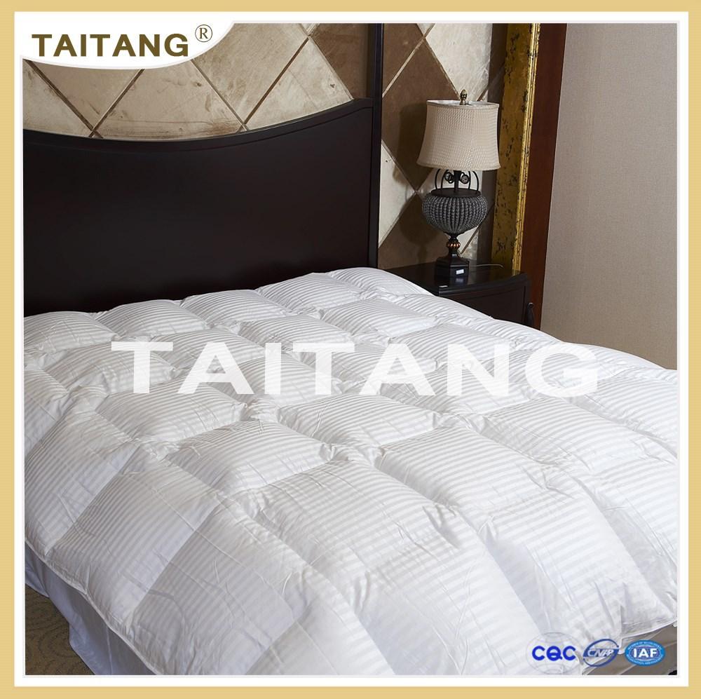 Custom blanco llano teñido queen size camas funda edredon set/hotel ...