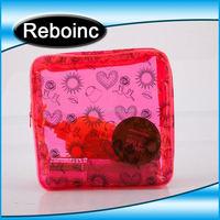 Wholesale plastic pvc cosmetic make up bag case